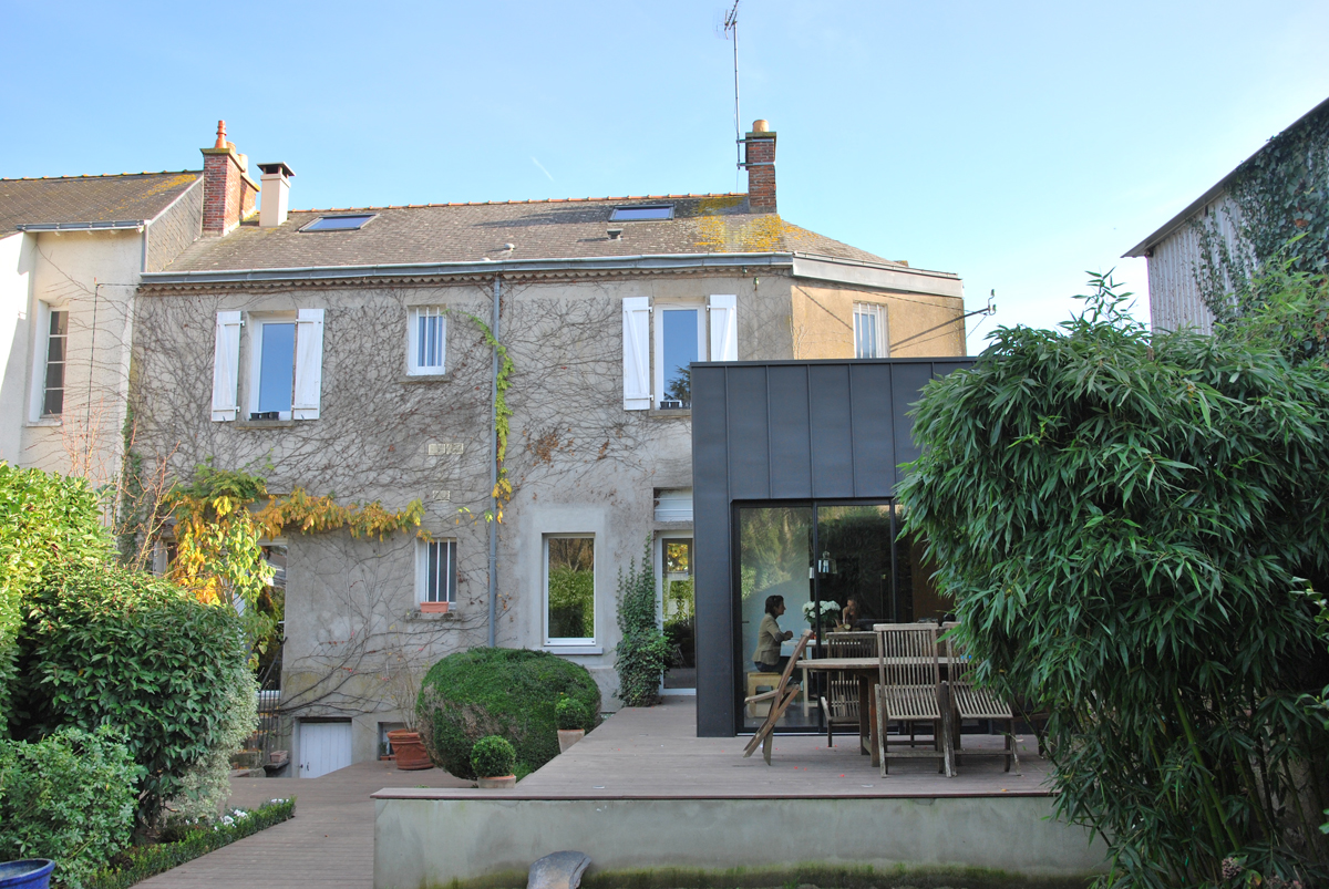 Extension d'une habitation MM, Cholet