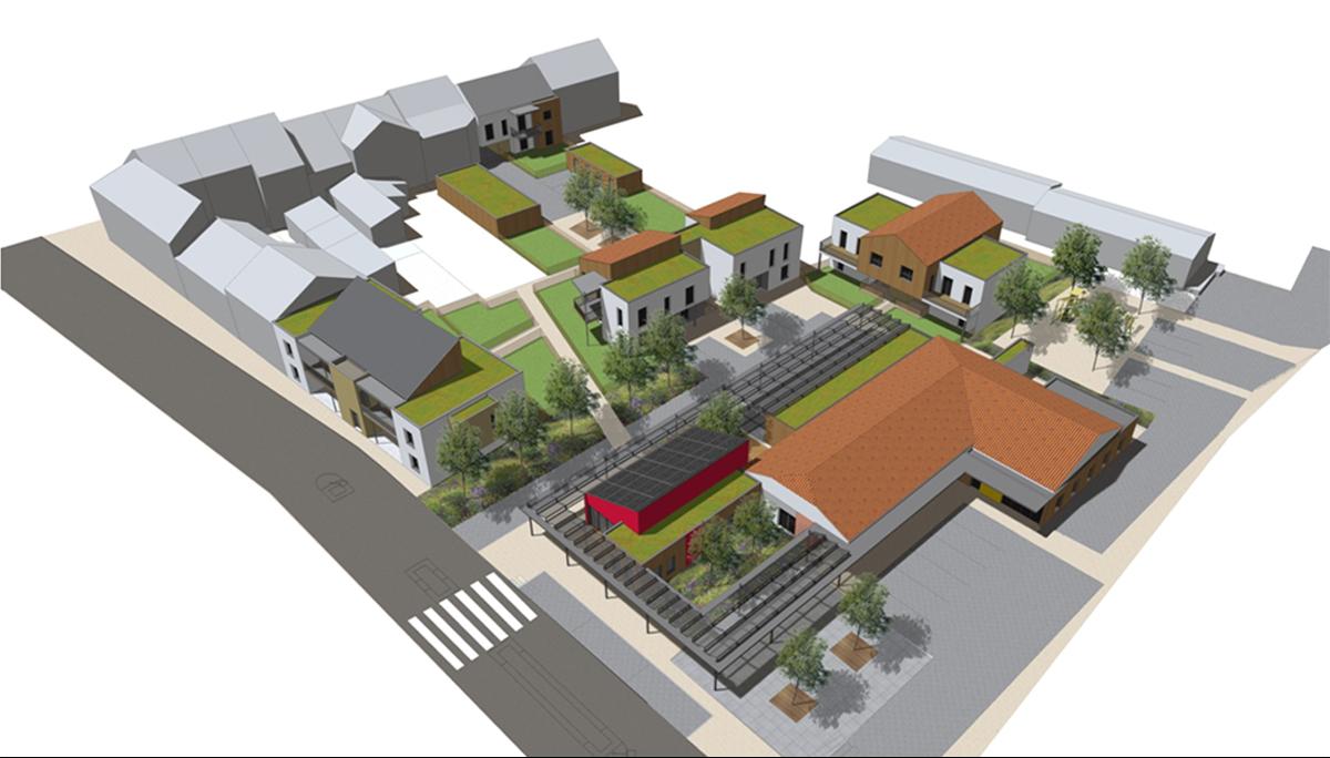 Aménagement urbains, La Jubaudière