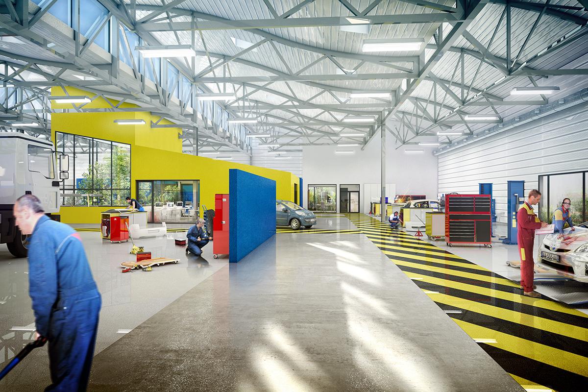 Lycée de Narcé, Brain-sur-l'Authion