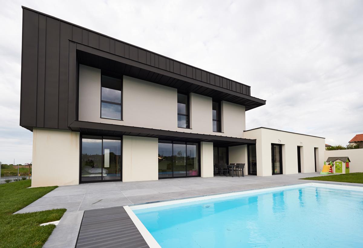 maison individuelle cc la verrie agence gr goire architectes cholet. Black Bedroom Furniture Sets. Home Design Ideas