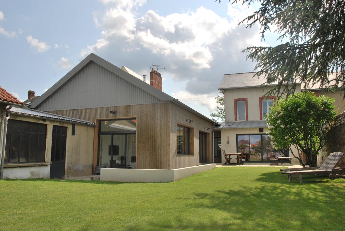 Rénovation d'une habitation CC, Cholet