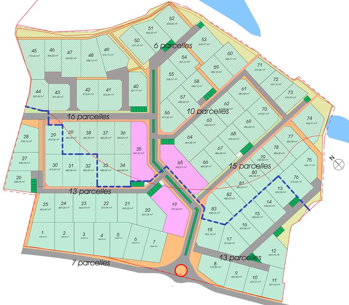 Création d'un quartier d'habitat, La Tessoualle