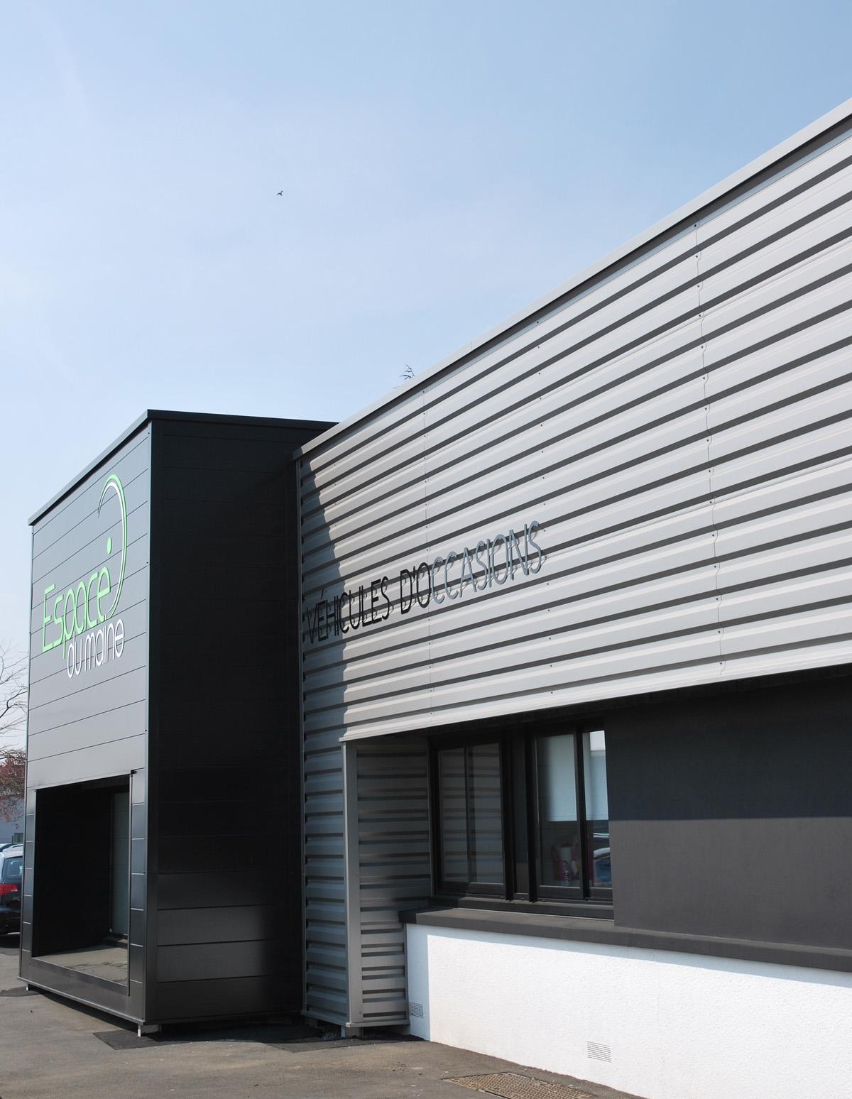 garage automobile cholet agence gr goire architectes cholet. Black Bedroom Furniture Sets. Home Design Ideas