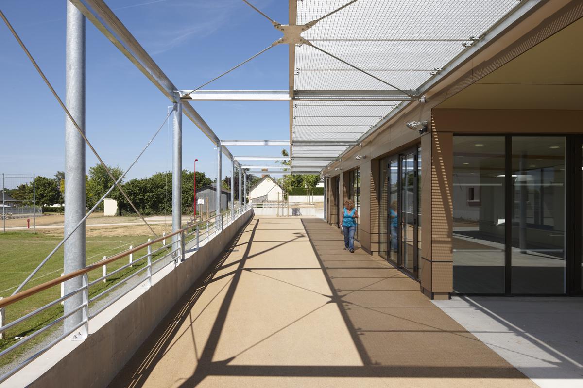 Salle culturelle, Bécon-Les-Granits