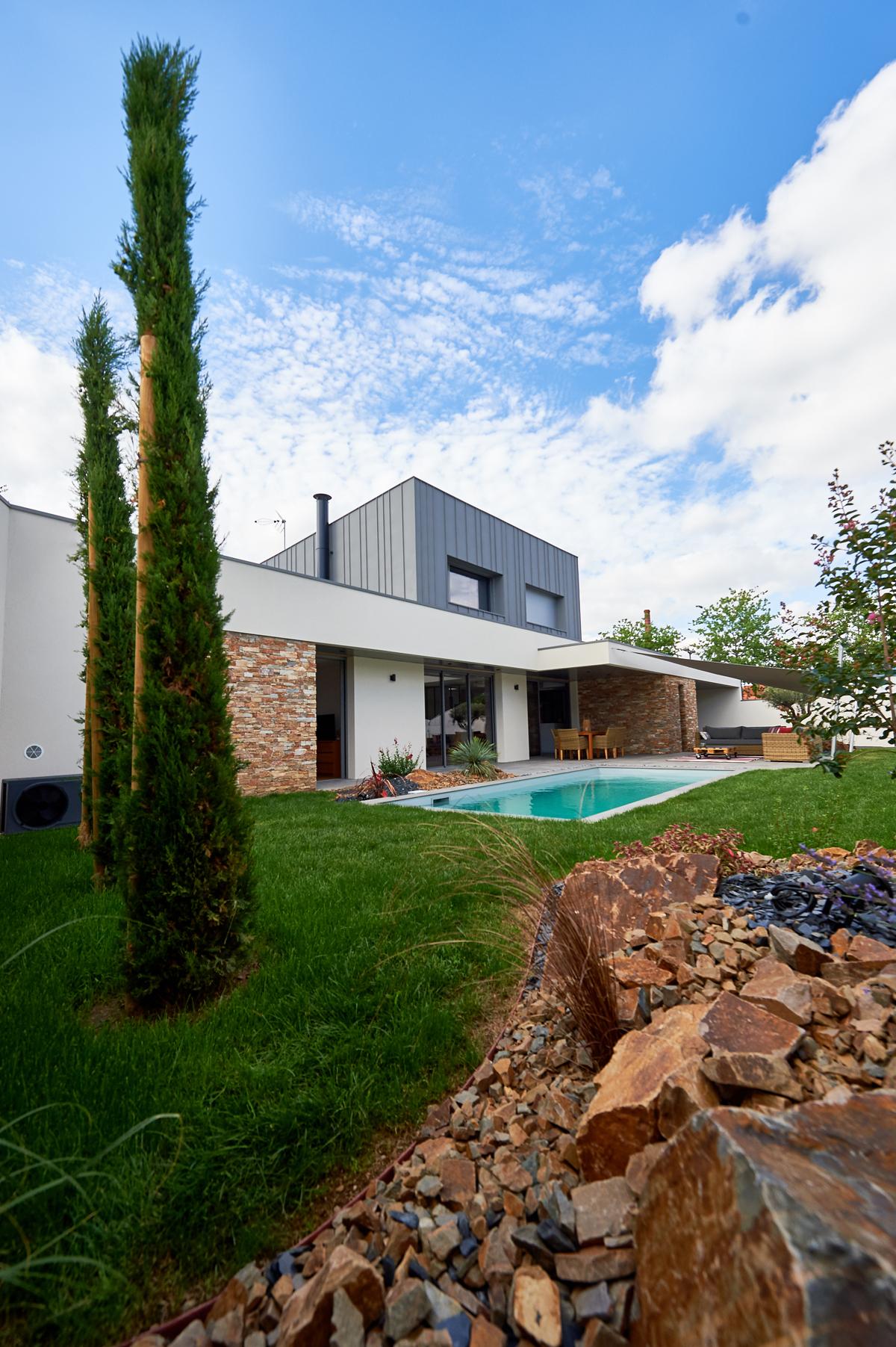 Maison individuelle JA, Cholet