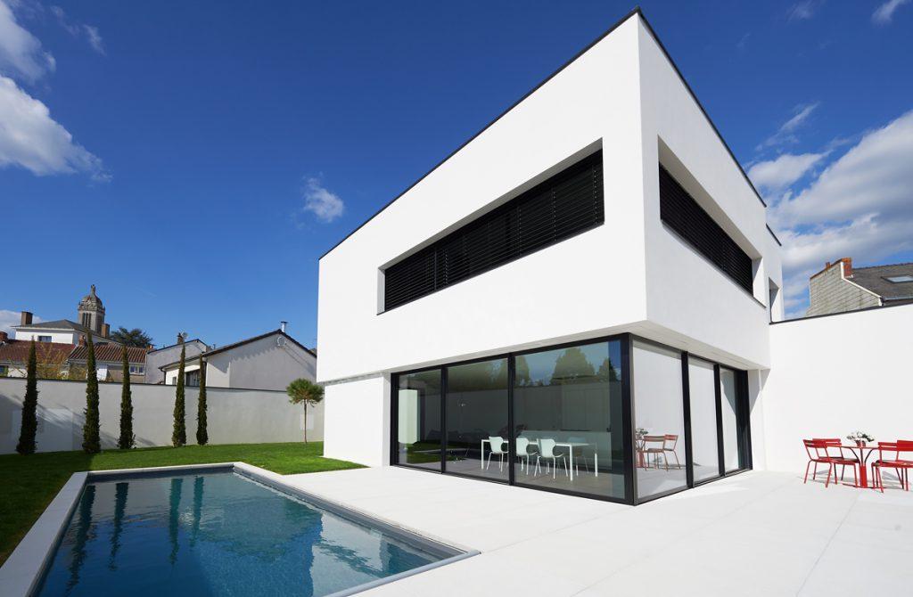 maison individuelle cd cholet agence gr goire architectes cholet. Black Bedroom Furniture Sets. Home Design Ideas