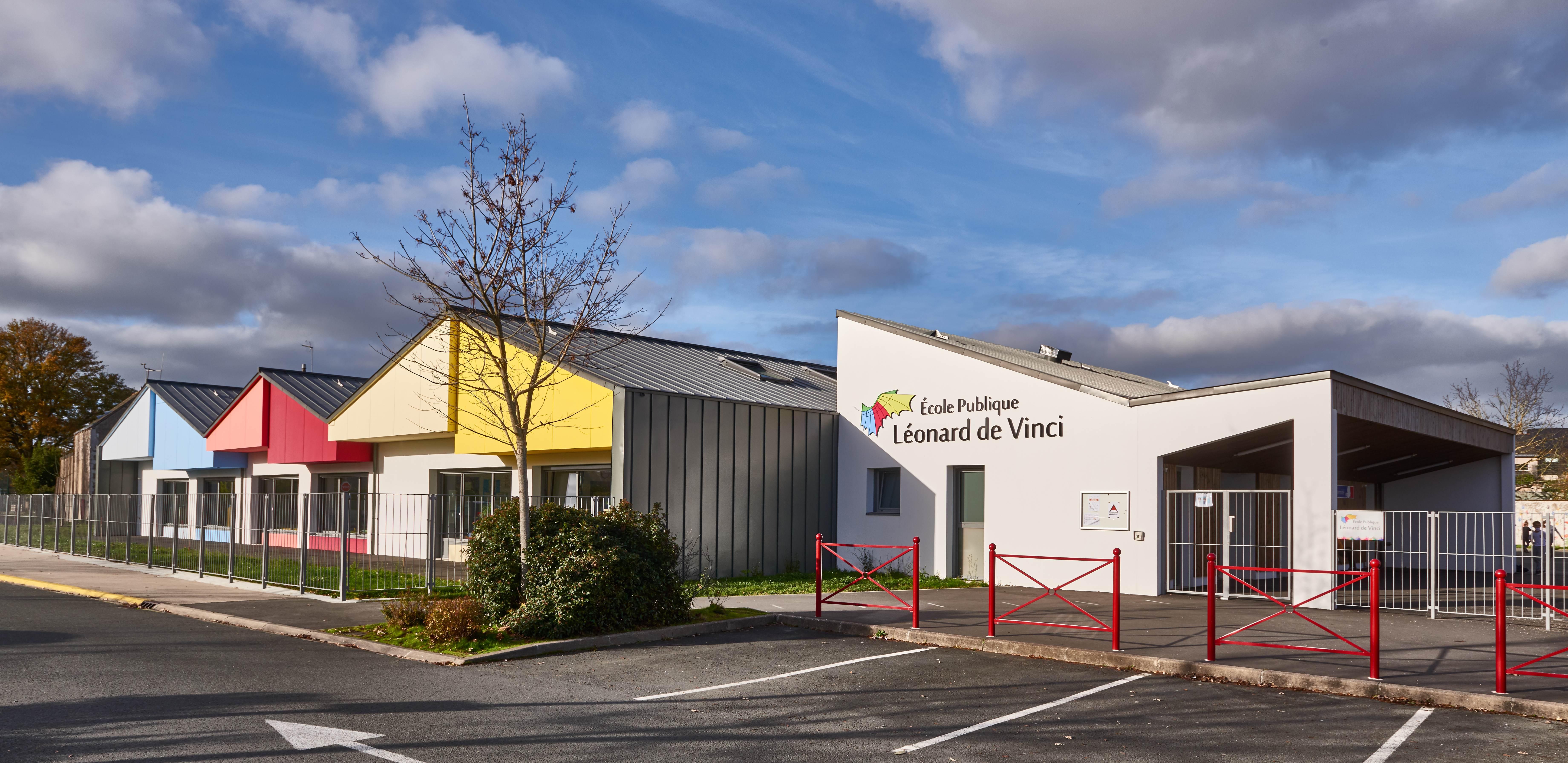 Ecole maternelle, Bécon-les-Granits