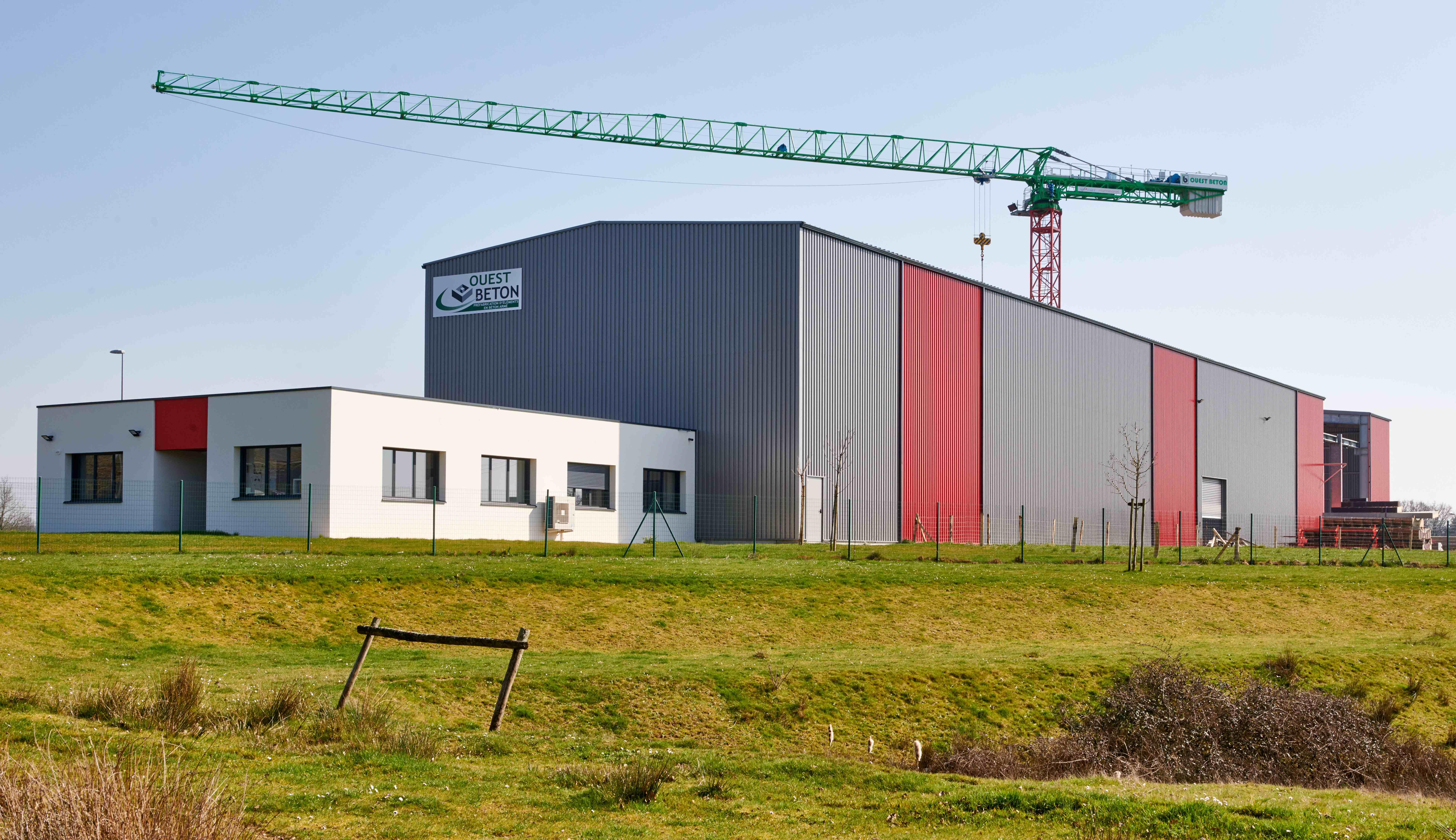 Construction d'un site industriel atelier et bureaux, Loublande