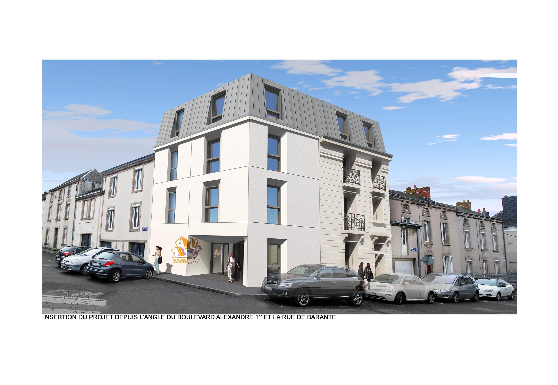 Construction d'une résidence habitat Jeunes, Bressuire