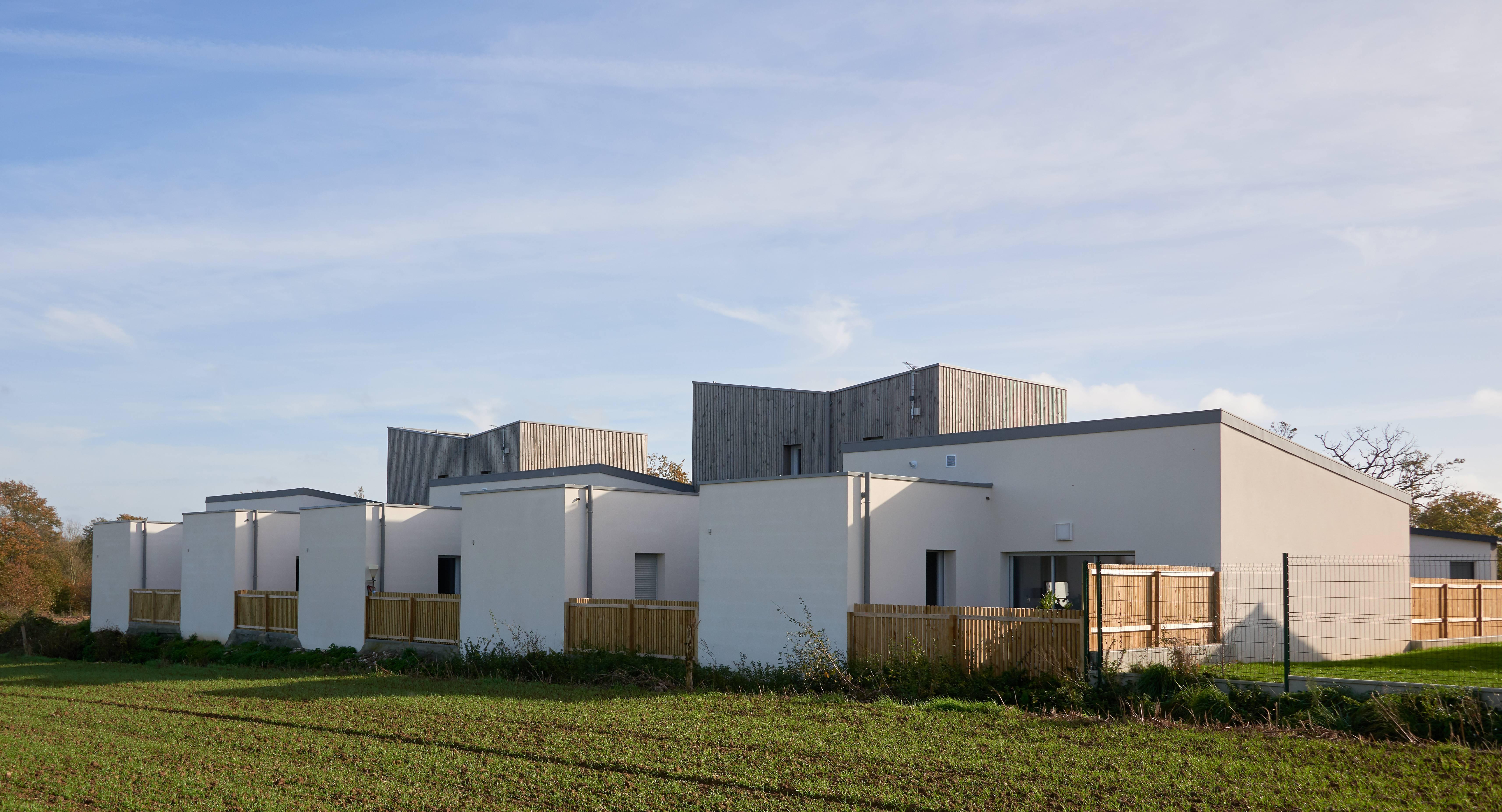 Construction de logements locatifs, Saint-Christophe-du-bois